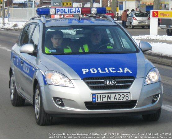 Policja Radom: Policjanci z grupy SPEED zatrzymali nietrzeźwego kierowcę